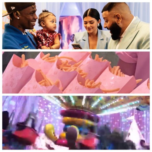 9e6960f89016 Kylie Jenner & Travis Scott Throw Daughter Extravagant 1st B-Day Party