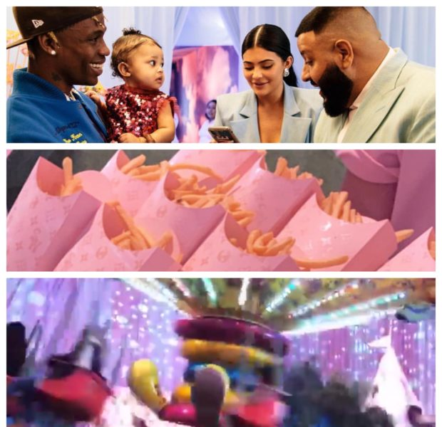 Kylie Jenner & Travis Scott Throw Daughter Extravagant 1st B-Day Party