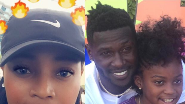 NFL's Antonio Brown Wants Full Custody Of Daughter After Mother Accuses Him Of Physical Abuse