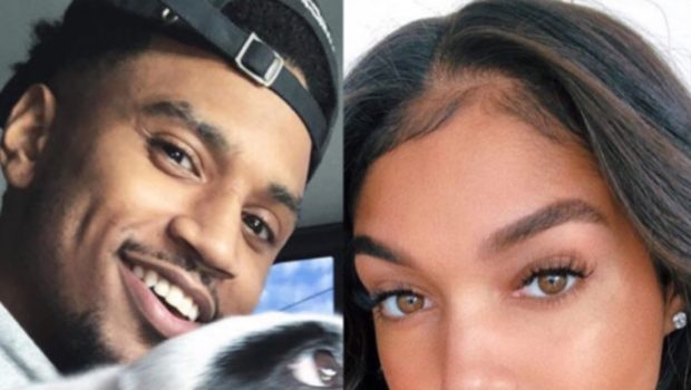 Trey Songz Girlfriend Lori Harvey Allegedly Hooked Up W/ Lewis Hamilton