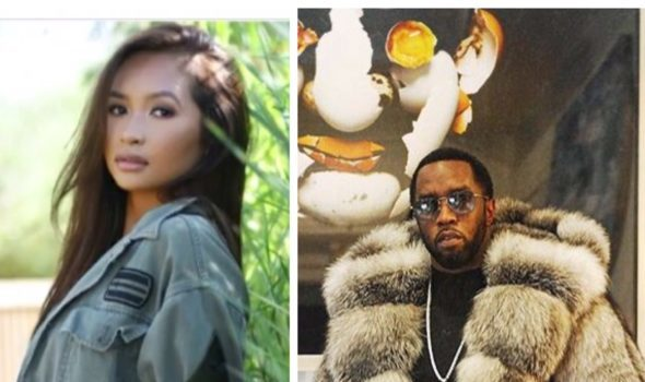 Diddy Locks Lips, Kisses Rumored Girlfriend Gina Huynh On Social Media [VIDEO]