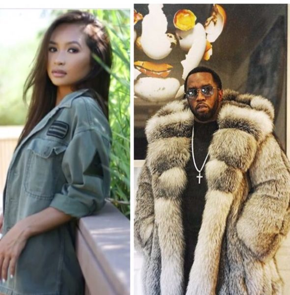 Diddy Romantically Linked To Floyd Mayweather's Ex Gina Huynh, Who He Allegedly Cheated On Cassie W/