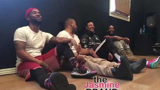 B2k Teases Fans W/ Dance Rehearsal Footage [VIDEO]