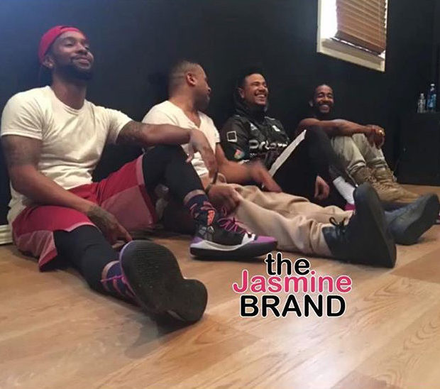B2k Spotted Rehearsing For Millennium Tour [Photo]