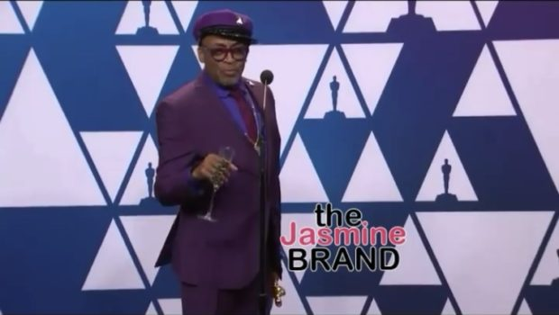 "Spike Lee Visibly Upset, Says ""Green Book"" Should NOT Have Won Oscar For Best Picture [VIDEO]"