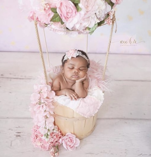 Letoya Luckett Shares 1st Photos of Baby Girl Gianna