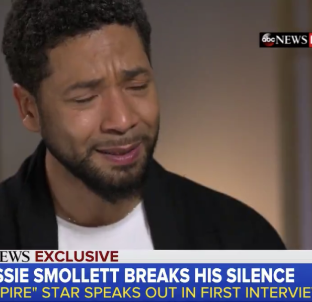 Jussie Smollet Cries While Talking About His Brutal Attack: I'm Pissed Off!