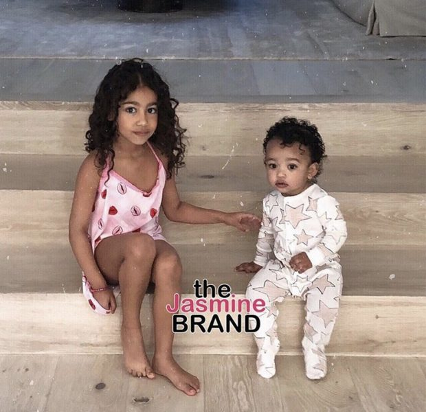 Kim Kardashian Shares Adorable Photo of North & Chicago West