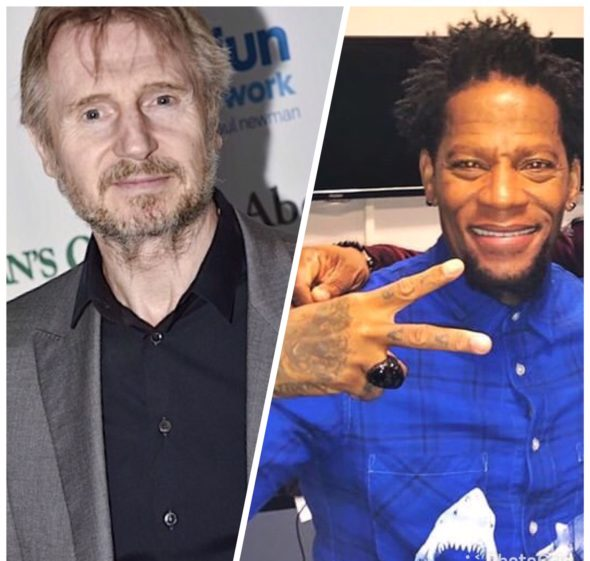 D. L. Hughley Backs Liam Neeson, Calls Actor Brave- It Makes Him Human!