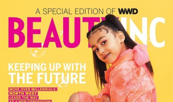 Kim Kardashian's Daughter North West Shines In 1st Solo Cover [Photos]