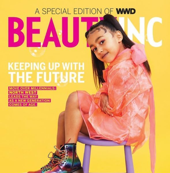 Kim Kardashian's Daughter North West Shines In 1st Solo Cover[Photos]