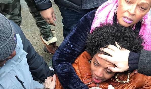 Love & Hip Hop Star Yandy Smith Pepper Sprayed While Protesting Jail Conditions [VIDEO]