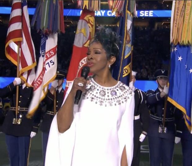 Watch Gladys Knight Perform National Anthem At Super Bowl [VIDEO]