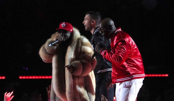 Watch Maroon 5, Travis Scott & Big Boi Perform At Super Bowl Halftime Show [VIDEO]