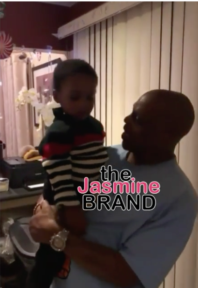 DMX Dances & Bonds W/ Young Son In Sweet Home Video