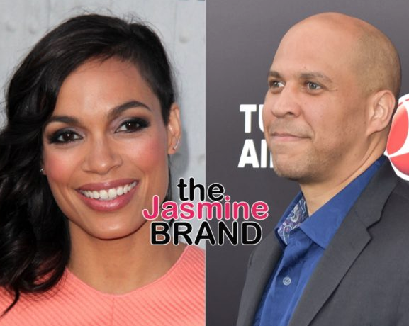 Cory Booker Reveals Relationship Status, Amidst Rumors of Dating Rosario Dawson
