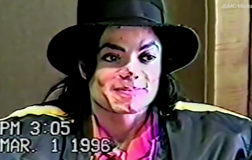 Michael Jackson - Old Video Of Him Being Questioned About