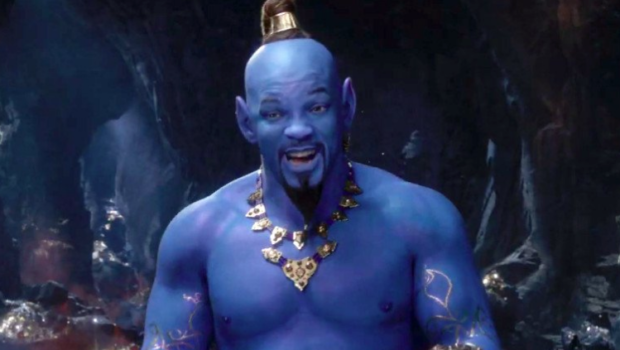 1st Look! 'Aladdin' Trailer Reveals Will Smith's Blue Genie [VIDEO]