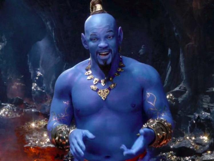 Will Smith Genie: 1st Look! 'Aladdin' Trailer Reveals Will Smith's Blue