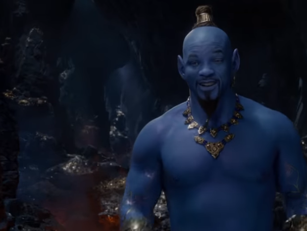 Will Smith's Blue Genie 'Aladdin' Character Receives Mixed Reviews