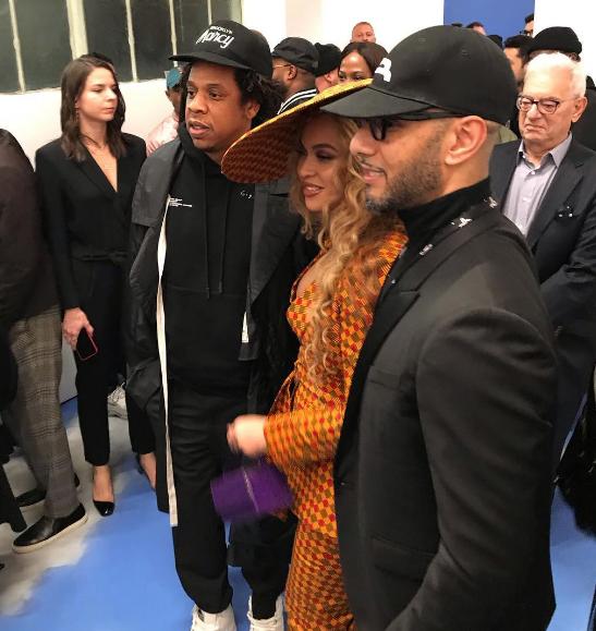 Beyonce & Jay Z Spotted At Swizz Beatz Dreamweaver Art Gala [VIDEO]