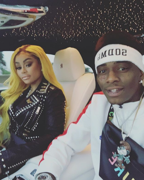 Blac Chyna & Soulja Boy Continue To Spark Dating Rumors