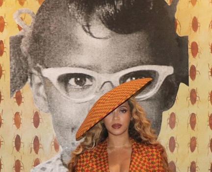 Beyonce Serves African Print Drip, Wearing EnaGancio & L'AFSHAR [Photos]