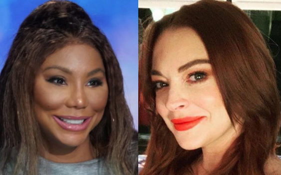 Lindsay Lohan Blames Ex Employee For Trashing Tamar Braxton & Celebrity Big Brother: These Comments Did NOT Come From Me!