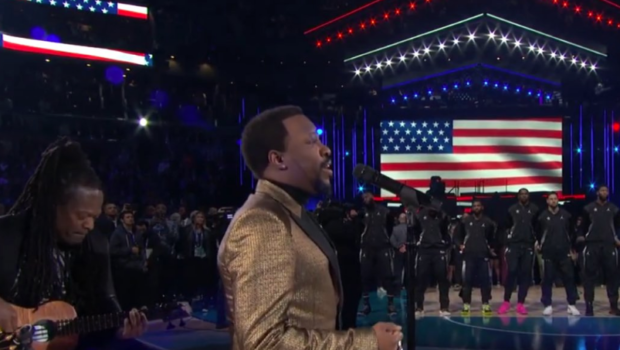 Anthony Hamilton's Star Spangled Banner Rendition Compared To Marvin Gaye's