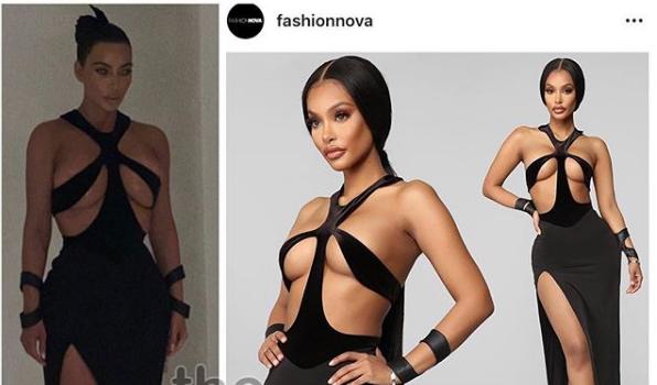 Kim Kardashian Lashes Out At Fashion Companies Ripping Off Designers, Fashion Nova Responds