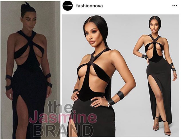 Kim Kardashian Lashes Out At Fashion Companies Ripping Off Designers, Fashion Nova Responds