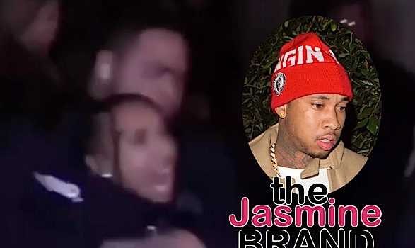 Tyga Dragged Out Of Floyd Mayweather's Party, Tries To Grab Security Guard's Gun [VIDEO]