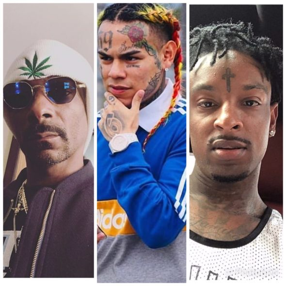 "Snoop Dogg Calls Tekashi 6ix9ine A ""Snitch"" For Copping Plea Deal, 21 Savage Agrees"