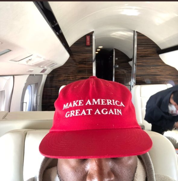 """Kanye Is """"Never Wearing"""" His MAGA Hat Again, According To Close Friend/Rapper"""