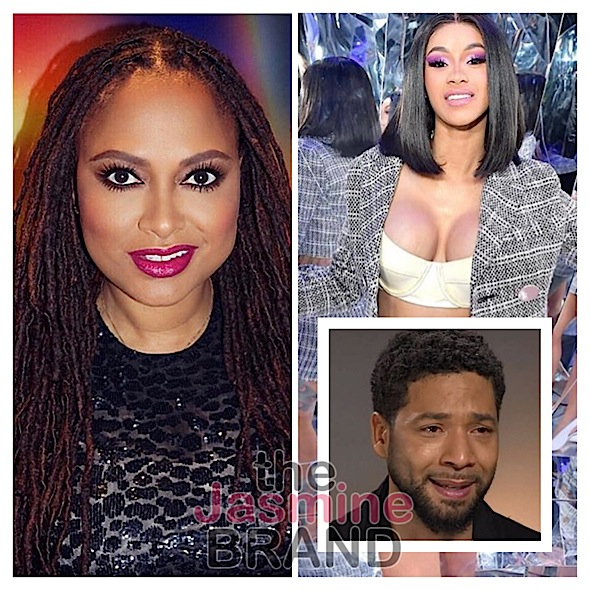 Cardi B Says Jussie Smollet Ruined Black History Month, Ava Duvernay – I Won't Blindly Believe Chicago Police