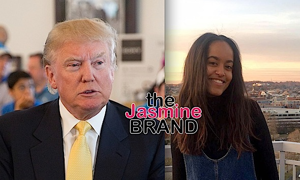 Malia Obama Allegedly Slams Trump On Secret Facebook Page