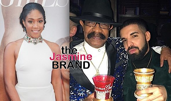 Tiffany Haddish Says Drake's Dad Slid In Her DMs – I Turned Him Down, I Don't Wanna Be Drake's Stepmom!