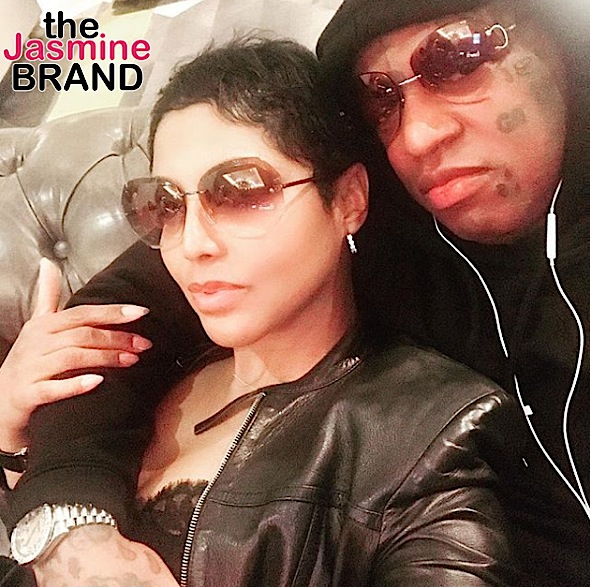 Toni Braxton & Fiancé Birdman Cuddle In Rare IG Photo Before Toni Deletes It