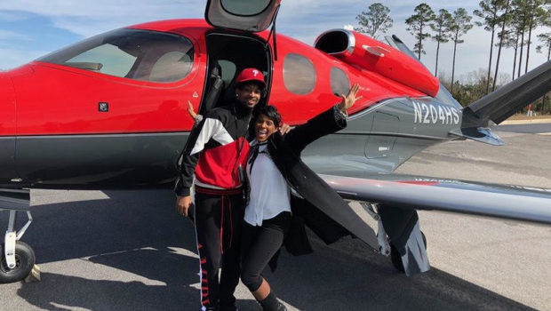 21 Savage Poses With Mother In 1st Photo Since Release