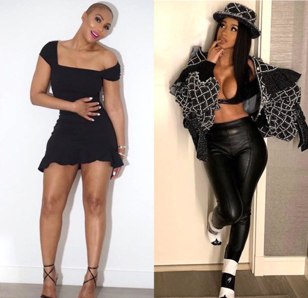 "Tamar Braxton – ""I want to be the Cardi B of TV!"""