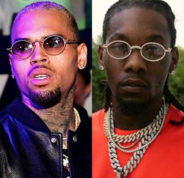 Chris Brown Publishes His Home Address, Invites Offset To Come Over & Fight Him