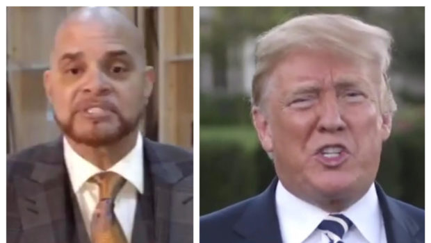 Sinbad Called Racist By Trump Supporters