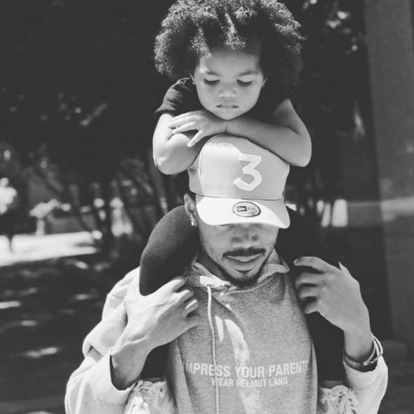 Chance The Rapper & Wife Are Expecting Baby Number 2! See Kirsten's Baby Bump [Photo]