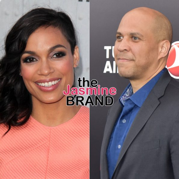 Rosario Dawson Confirms Relationship W/ Presidential Hopeful Cory Booker