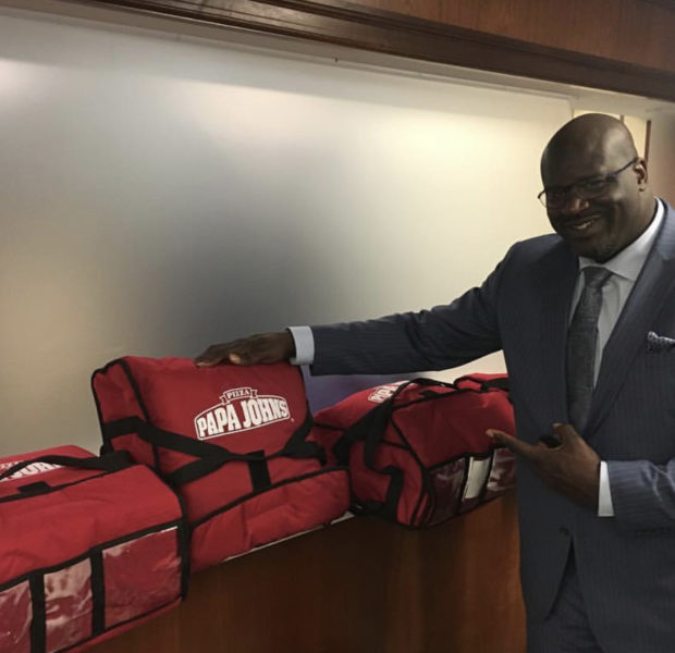 Shaquille O'Neal Joins Papa John's Board of Directors & Invests In Multiple Stores As It Works To Rebuild Image Post N-Word Controversy