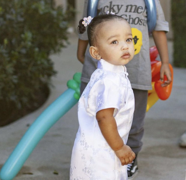 Kim Kardashian's 1-Year-Old Daughter Chicago Wears Yeezy Heels W/ A $17.5 Hermes Bag [VIDEO]
