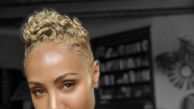 Jada Pinkett-Smith Debuts New Blond Hair [Photo]
