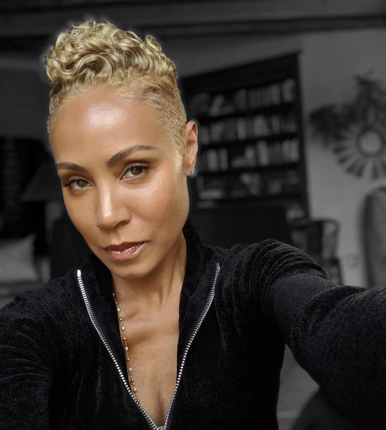 Image result for Jada Pinkett- Smith hair 2019