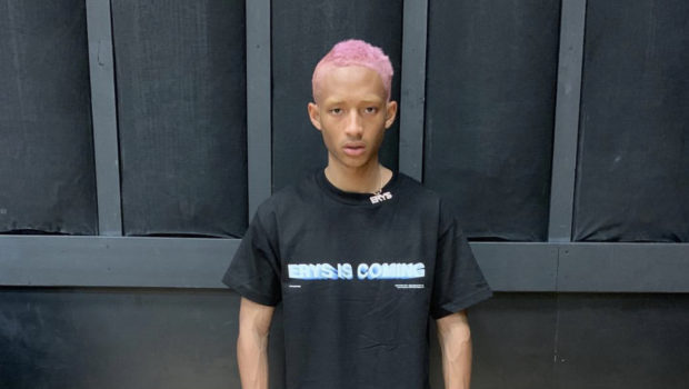 Jaden Smith Rocks Pink Hair W/ Blonde Eyebrows [Photo]