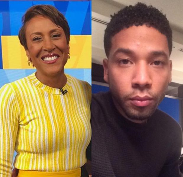"Robin Roberts Admits She Was Conflicted About Interviewing Jussie Smollett: ""It Was A No Win Situation For Me"""